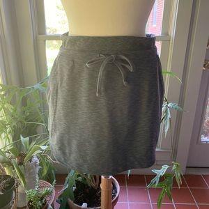 Athleta Downplay dark gray skirt
